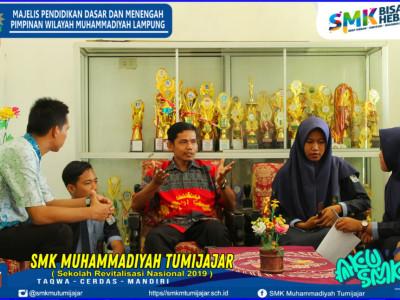 Pengambilan Gambar Profil SMP Muhammadiyah Tumijajar