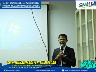 KUNJUNGAN STUDI JURUSAN PERBANKAN SYARIAH SMK MUTU KE BANK MUAMALAT BANDAR LAMPUNG